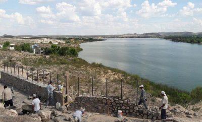 Mirador lago colina