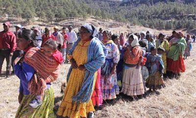 Loa indígenas siguen con su grito Sí tenemos frío, pero tenemos más hambre