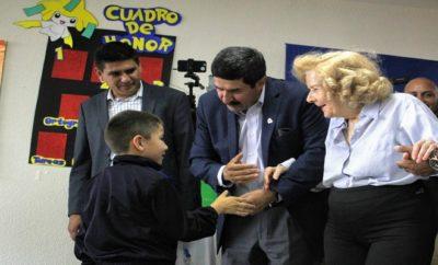 Inauguración Primaria Federico de la Vega en Juárez