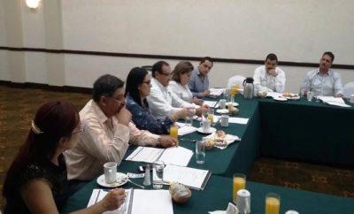 Reunión de René Almeida con diputados federales